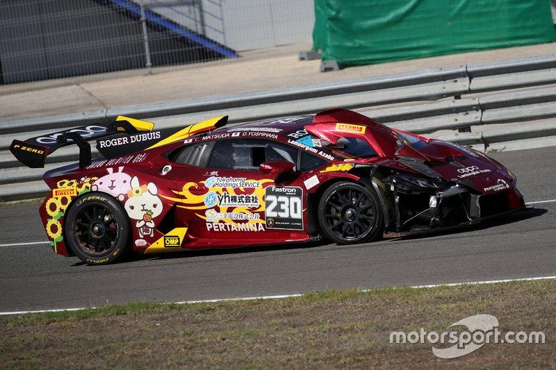 #230 Huracan Super Trofeo Evo, yh Racing Team: Takamichi Matsuda, Daijiro Yoshihara
