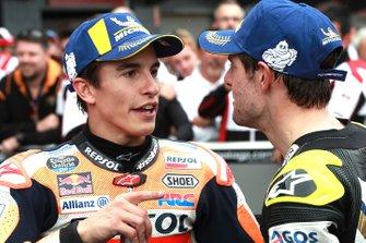 Ganador de la carrera Marc Marquez, Repsol Honda Team, 2º Cal Crutchlow, Team LCR Honda