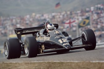 Nigel Mansell, Lotus 95T Renault, al GP d'Olanda del 1984