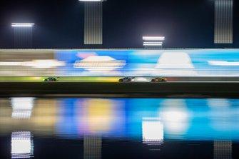 #4 Corvette Racing Corvette C8.R: Oliver Gavin, Tommy Milner, Marcel Fassler / #9 Pfaff Motorsports Porsche 911 GT3 R: Dennis Olsen, Zacharie Robichon, Lars Kern, Patrick Pilet