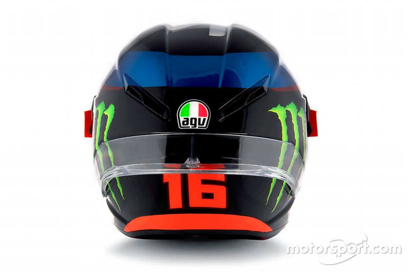 Helmet of Andrea Migno, Sky Racing Team VR46