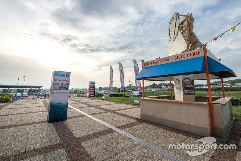 L'ingresso del museo della 24 Ore di Le Mans