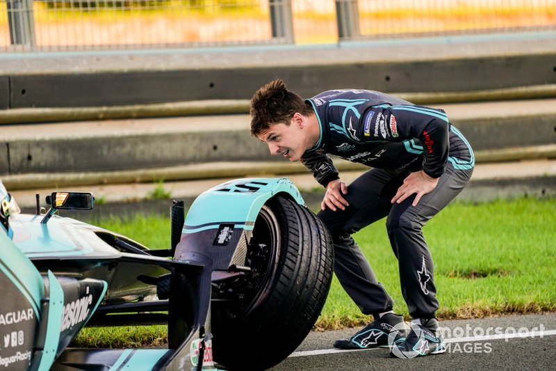 James Calado, Panasonic Jaguar Racing met schade