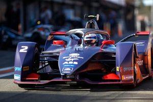 Sam Bird, Envision Virgin Racing, Audi e-tron FE06 in the pit lane