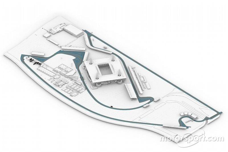 Illustraties circuit Miami
