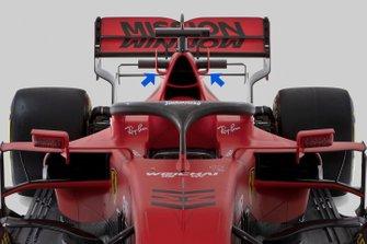 Фрагмент Ferrari SF1000