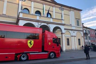 Camión de Ferrari