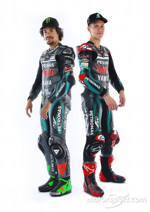 Fabio Quartararo, Petronas Yamaha SRT y Franco Morbidelli, Petronas Yamaha SRT