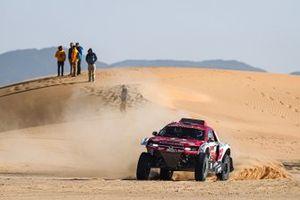 #341 Ssangyong Motorsport Koorando DKR: Oscar Fuertes Aldanondo, Diego Vallejo