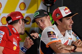 Fabio Quartararo, Petronas Yamaha SRT, Andrea Dovizioso, Ducati Team
