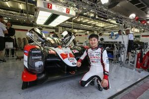 #7 Toyota Gazoo Racing Toyota TS050 - Hybrid: Kenta Yamashita