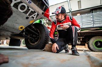 Toyota Gazoo Racing Toyota Hilux: Fernando Alonso