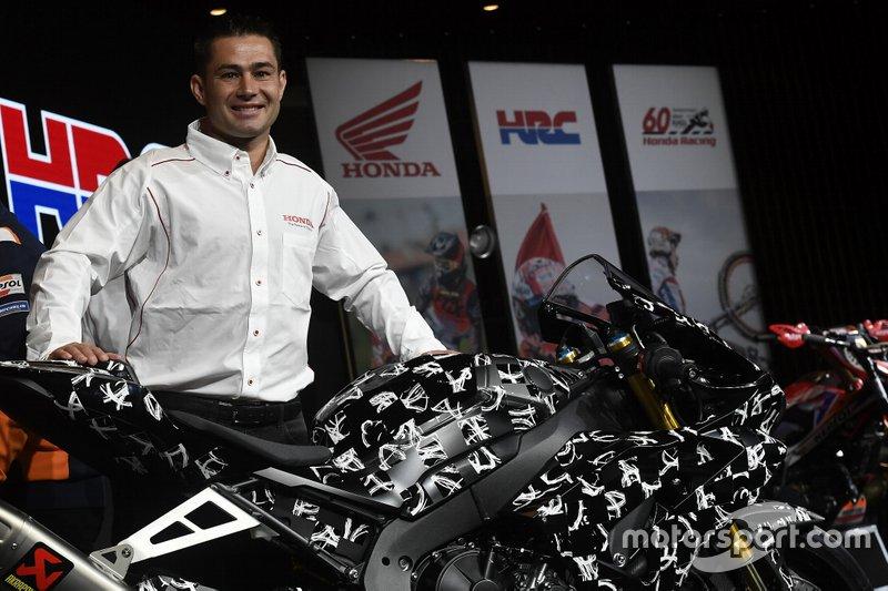 Leon Haslam - Honda WSBK Team