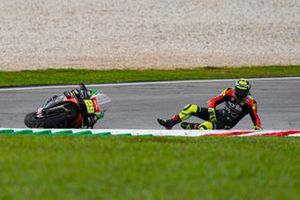 Andrea Iannone, Aprilia Racing Team Gresini, crash