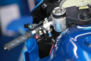 Joan Mir, Team Suzuki MotoGP's handlebars