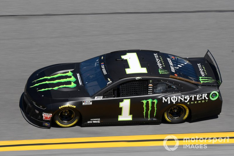 18. Kurt Busch, Chip Ganassi Racing, Chevrolet Camaro Monster Energy