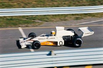 Jody Scheckter, McLaren, al GP degli Stati Uniti del 1973