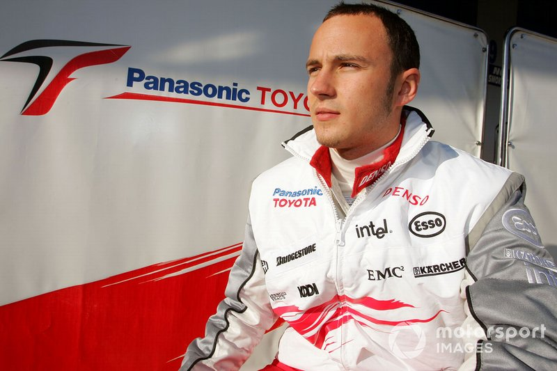 Franck Perera, Toyota, ai test di dicembre a Jerez nel 2005