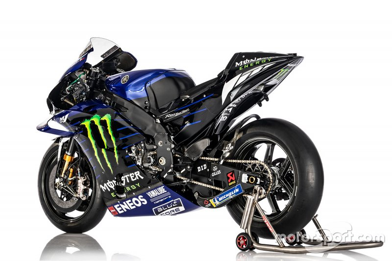 Bike of Maverick Vinales, Yamaha Factory Racing