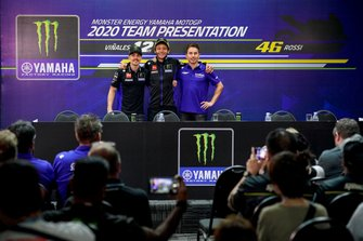 Maverick Vinales, Valentino Rossi, Jorge Lorenzo, Yamaha Factory Racing