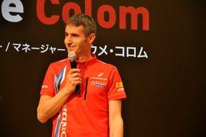 Jaume Colom, team manager