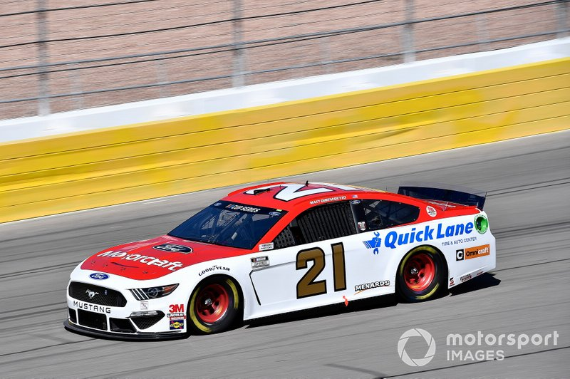2. Matt DiBenedetto, Wood Brothers Racing, Ford Mustang