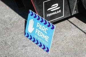 Parc ferme sign