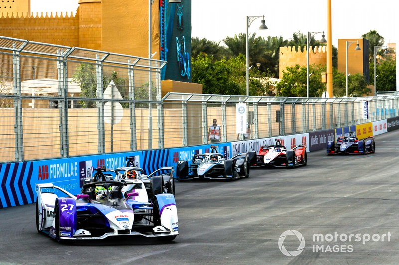 Alexander Sims, BMW I Andretti Motorsports, BMW iFE.20 Stoffel Vandoorne, Mercedes Benz EQ, EQ Silver Arrow 01, Nyck De Vries, Mercedes Benz EQ, EQ Silver Arrow 01