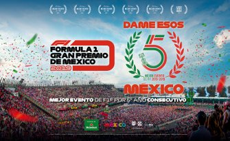 GP de México quinto mejor evento de F1 2019