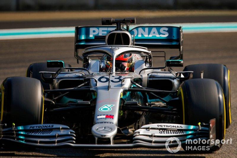 Джордж Расселл, Mercedes AMG F1 W10