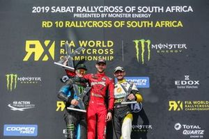 Podium: Winner Niclas Grönholm, GRX Taneco. second place Andreas Bakkerud, Monster Energy RX Cartel, third place Timur Timerzyanov, GRX Taneco