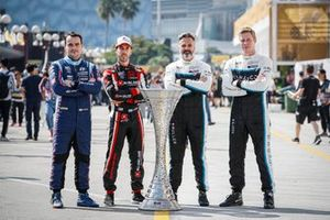 Norbert Michelisz, BRC Hyundai N Squadra Corse, Esteban Guerrieri, ALL-INKL.COM Munnich Motorsport, Yvan Muller, Cyan Racing Lynk & Co, Thed Bjork,Cyan Racing Lynk & Co