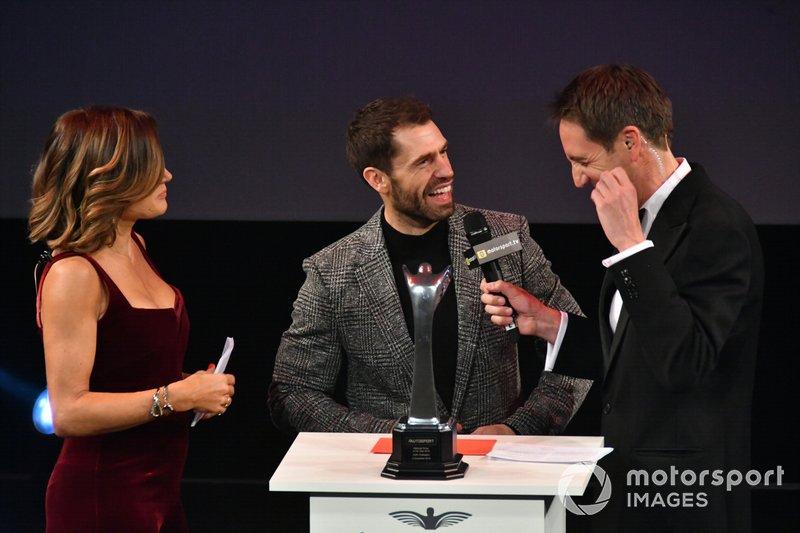 Presentazione del National Driver of the Year award