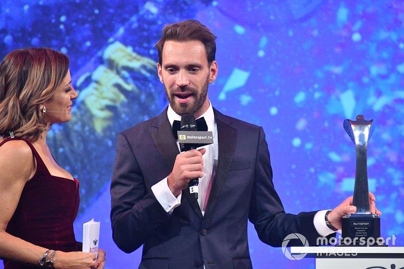 Jean-Eric Vergne gana el Premio al Momento del Año