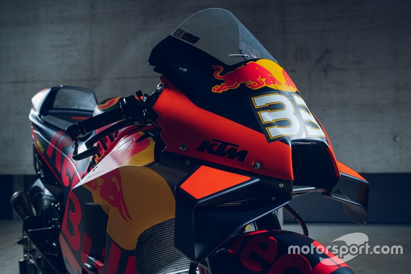 Moto de Brad Binder, Red Bull KTM Factory Racing