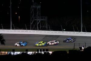 Ryan Newman, Roush Fenway Racing, Ford Mustang Koch Industries, Denny Hamlin, Joe Gibbs Racing, Toyota Camry FedEx Express, Ryan Blaney, Team Penske, Ford Mustang Menards / Peak, dernier tour