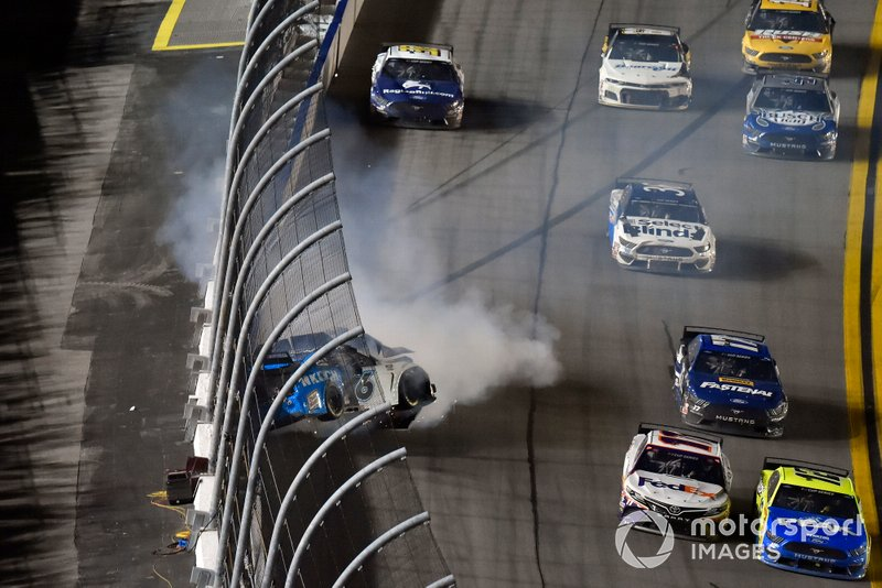 Accident de Ryan Newman, Roush Fenway Racing, Ford Mustang Koch Industries