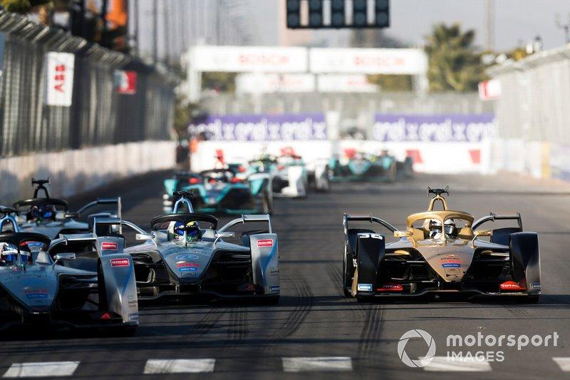 Edoardo Mortara Venturi Formula E, Venturi VFE05, Felipe Massa, Venturi Formula E, Venturi VFE05, Andre Lotterer, DS TECHEETAH, DS E-Tense FE19