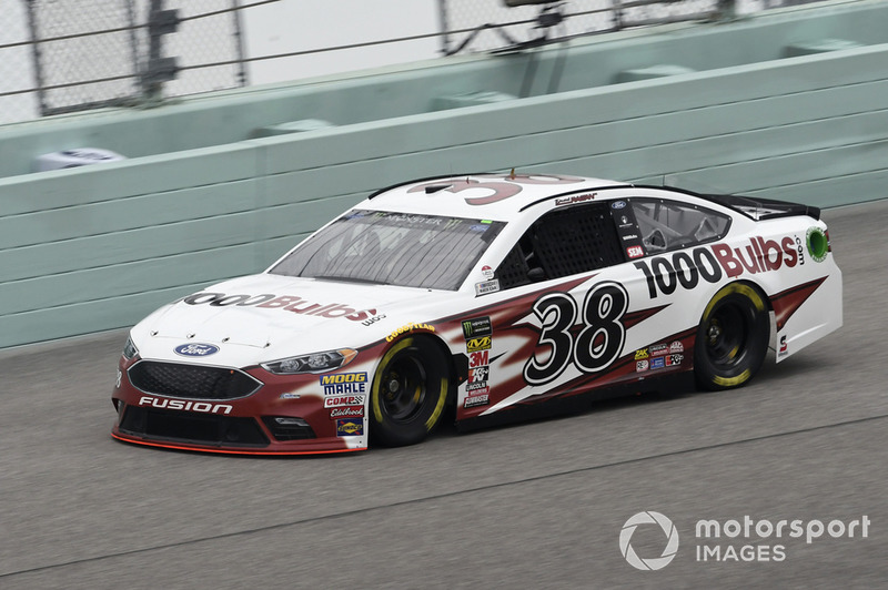 25. David Ragan, Front Row Motorsports, Ford Fusion 1000Bulbs.Com