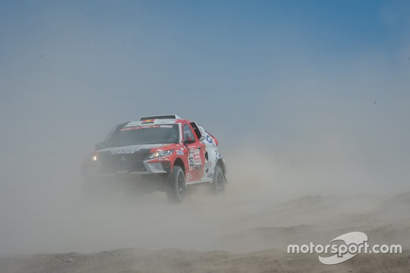 #351 Mitsubishi: Cristina Gutierrez, Pablo Moreno Huete