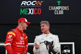 Mick Schumacher et David Coulthard