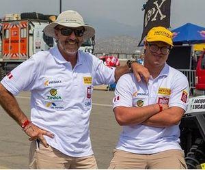 Jacques Barron y Lucas Barron, equipo Barron X2