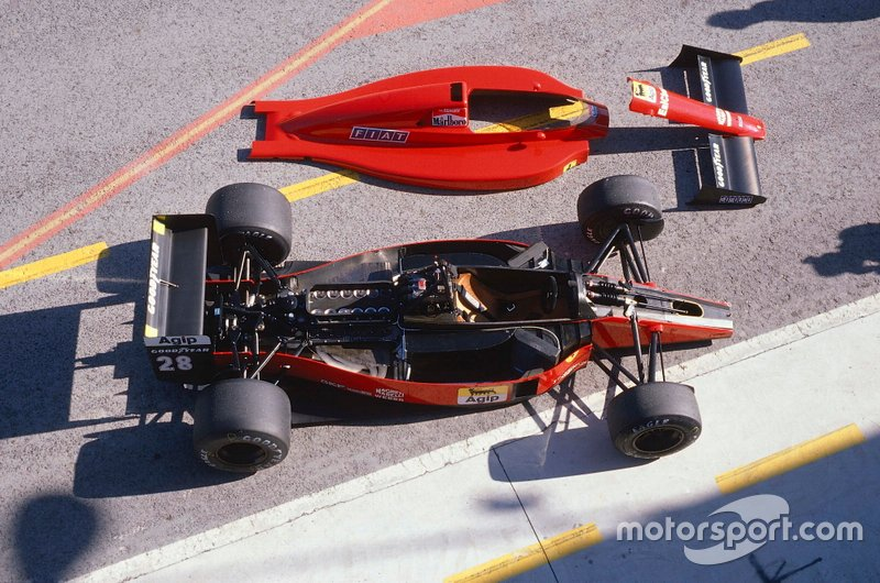 Ferrari 640 - Câmbio inovador, mas pouco confiável