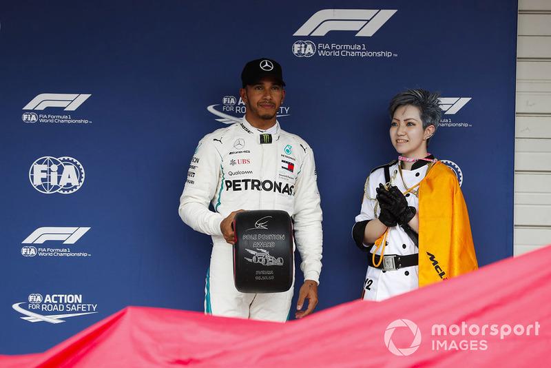 Em 30 edições, o GP do Japão em Suzuka foi vencido pelo pole position em 16 delas.