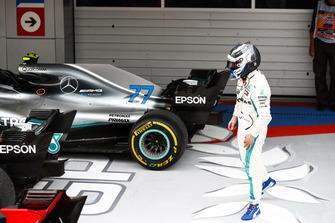 Tweede plaats Valtteri Bottas, Mercedes AMG F1