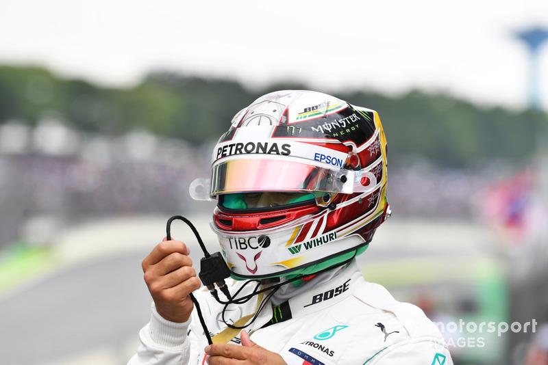 Lewis Hamilton, Mercedes AMG F1 in fpe