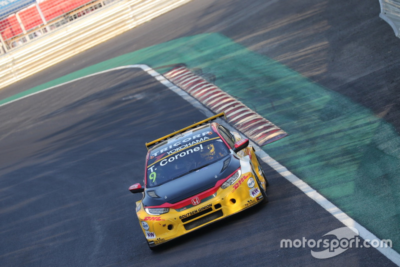 Tom Coronel, Boutsen Ginion Racing Honda Civic Type R TCR