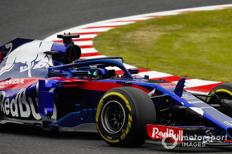 6: Brendon Hartley, Toro Rosso STR13, 1'30.023