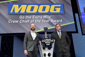 Go the Extra Mile Crew Chief of the Year Award, Adam Stevens, crew chief of the No. 18 Joe Gibbs Racing