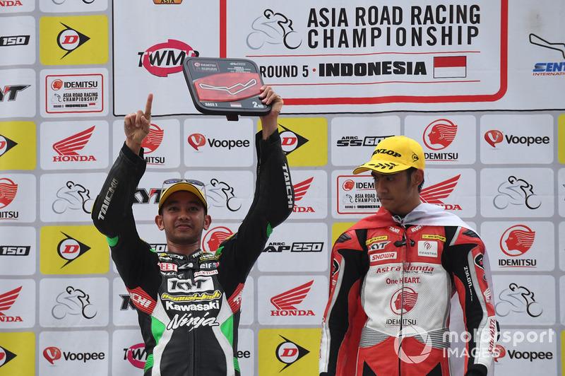 Ahmad Yudhistira, Manual Tech KYT Kawasaki Racing dan Andi Gilang, Astra Honda Racing Team